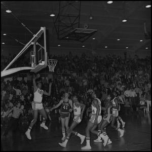 Primary view of object titled '[Eagles vs Titans Men's Basketball Game]'.