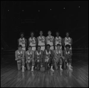 Primary view of object titled '[1973 - 1974 Men's Basketball Team]'.