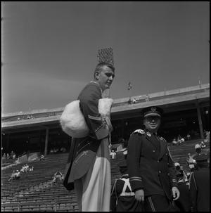 Primary view of object titled '[UNT Marching Band at Cotton Bowl]'.