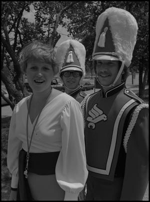 Primary view of object titled '[UNT Marching Band Members]'.