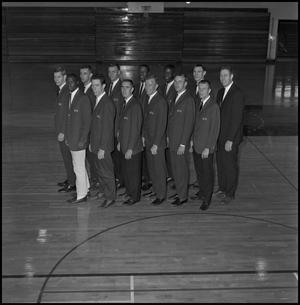 Primary view of object titled '[1964 basketball varsity team group shot]'.