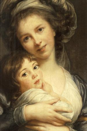 Primary view of object titled 'Self Portrait with Daughter'.
