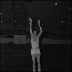 Primary view of object titled '[Eagles Basketball Player, 4]'.