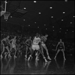 Primary view of object titled '[North Texas vs Wichita Basketball Game, 2]'.