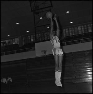 Primary view of object titled '[Basketball Player Leroy Winfield, 2]'.