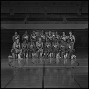 Primary view of object titled '[Men's Basketball Team, 3]'.
