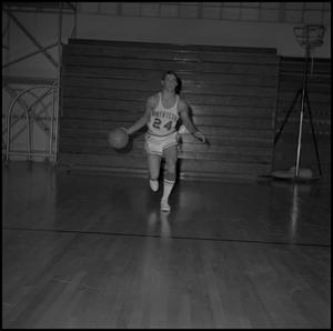 Primary view of object titled '[North Texas Basketball Player Neil Adams, 2]'.