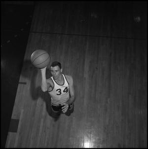 Primary view of object titled '[Eagle Varsity Basketball Player Dwight Dow, 3]'.