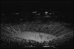 Primary view of object titled '[Photograph of a Men's Basketball Game]'.