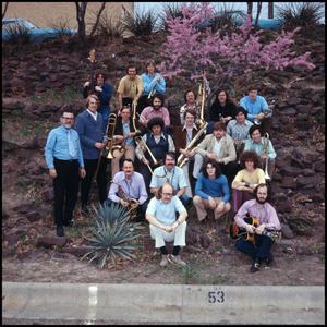 Primary view of object titled '[Lab Band Group Shot]'.