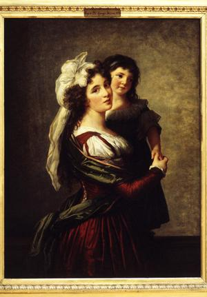Primary view of Madame Rousseau and Her Daughter