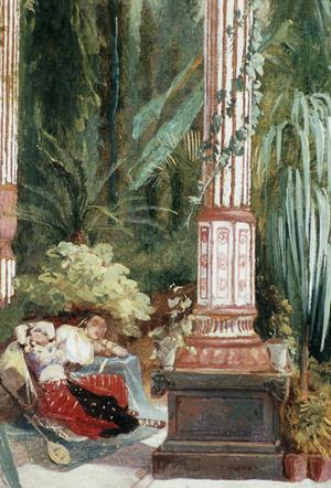 Primary view of object titled 'Interior of the Palm House'.