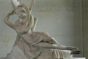 Primary view of object titled 'Cupid and Psyche (Psyche Revived by the Kiss of Cupid)'.
