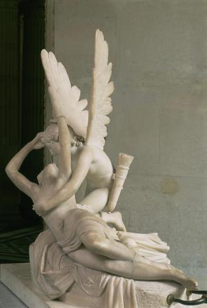 Primary view of Cupid and Psyche (Psyche Revived by the Kiss of Cupid)