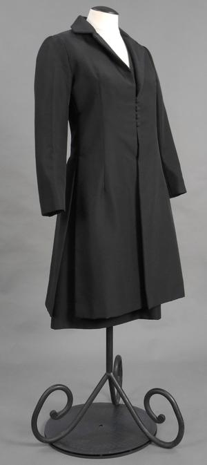 Primary view of object titled 'Evening Ensemble - Coat and Dress'.