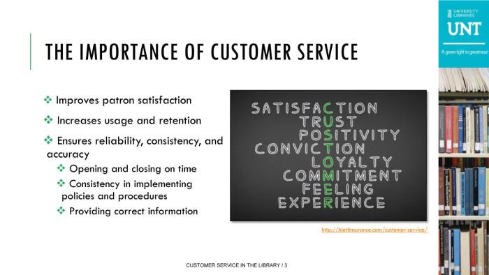 customer importance