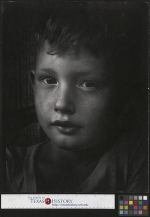 Primary view of object titled '[Portrait of an Unidentified Boy]'.