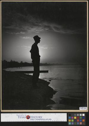 Primary view of object titled '[Man on the Shore]'.