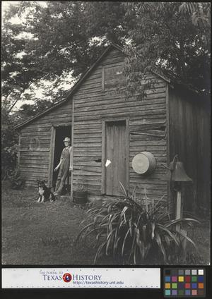 Primary view of object titled '[Man with Dog]'.