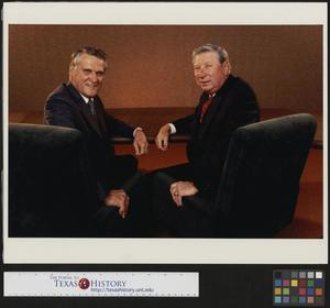 Primary view of object titled '[Portrait of two businessmen]'.