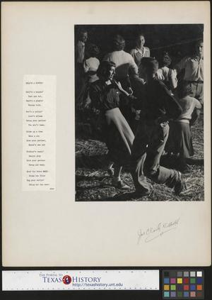 Primary view of object titled '[Teenagers Dancing]'.