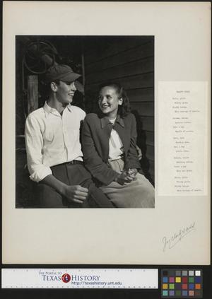 Primary view of object titled '[Unidentified Couple]'.