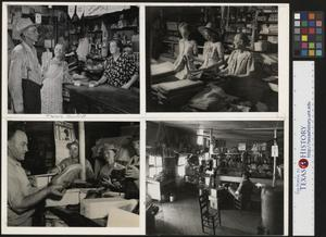 Primary view of object titled '[Various shots from the Country Store]'.