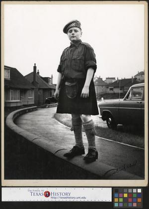 Primary view of object titled '[Scottish Boy]'.