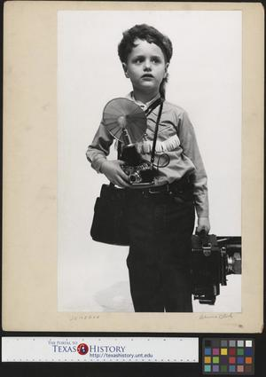 Primary view of object titled '[Portrait of Junebug Clark]'.