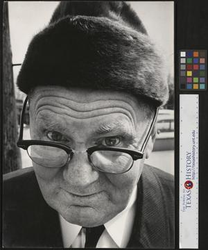 Primary view of object titled '[Portrait of Joe Clark HBSS]'.