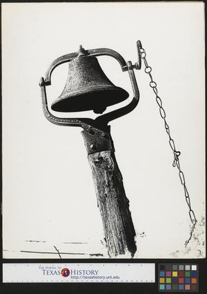 Primary view of object titled '[Bell with Chain]'.