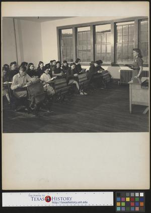 Primary view of object titled '[Students in Classroom]'.