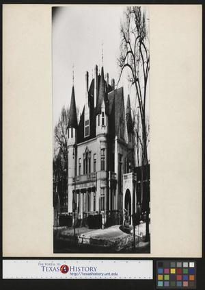 Primary view of object titled '[Building in Detroit, Michigan]'.