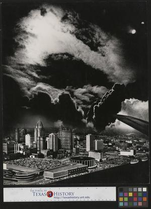 Primary view of object titled '[Storm Over Detroit]'.