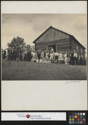 Primary view of object titled '[Country wedding group photo (2)]'.