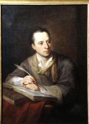 Primary view of Portrait of Johann Joachim Winckelmann