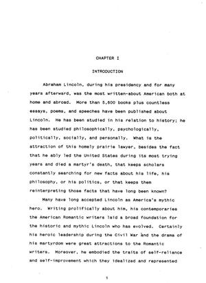 abraham lincoln and the american r tic writers embodiment and thumbnail image of item number 4 in abraham lincoln and the american r tic writers