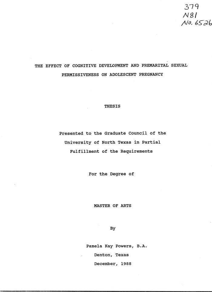 Good Titles For Teenage Pregnancy Argumentative Essay -4274