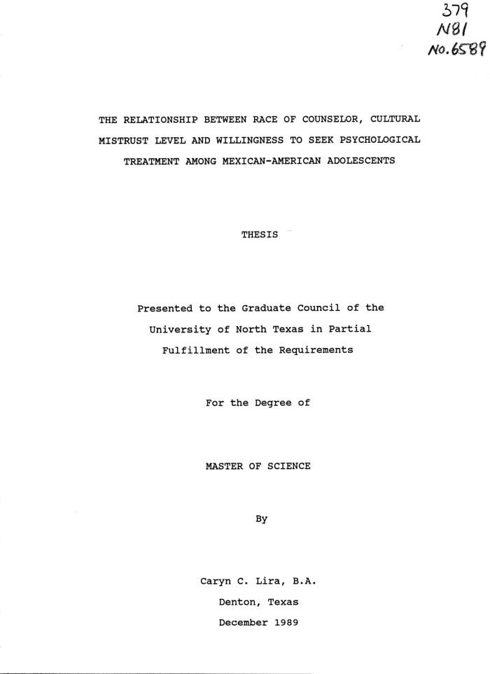 Cultural mistrust inventory dissertation general manager retail resume