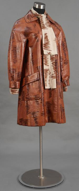Primary view of object titled 'Ensemble - Coat and Dress'.