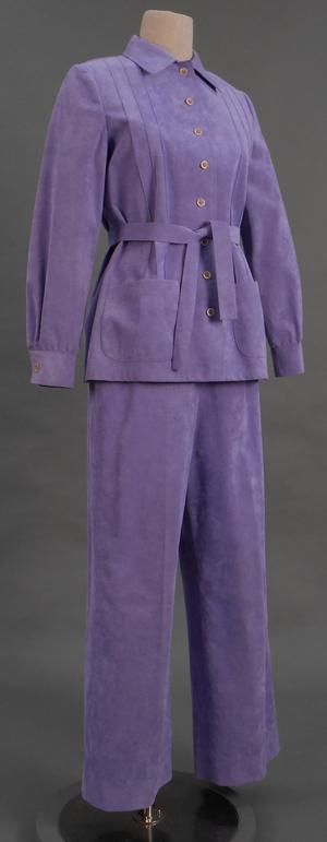 Primary view of object titled 'Ensemble - Jacket and Pants'.