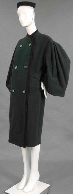 Primary view of object titled 'Coat and Pillbox Hat'.