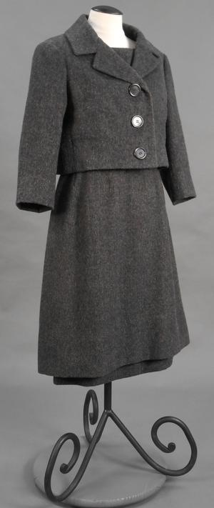 Primary view of object titled 'Ensemble - Jacket and Dress'.