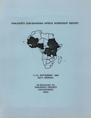 Primary view of object titled 'PAN-EARTH Sub-Saharan Africa Workshop Report'.