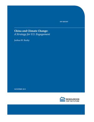 Primary view of object titled 'China and Climate Change: A Strategy for U.S. Engagement'.