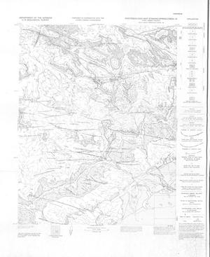 Primary view of object titled 'Photogeologic Map, Stinking Spring Creek-10 quadrangle, Emery County, Utah'.