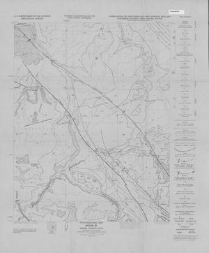 Primary view of object titled 'Photogeologic Map, Moab-10 Quadrangle, Grand County, Utah'.