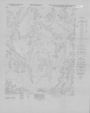 Primary view of object titled 'Photogeologic Map, Orange Cliffs-7 Quadrangle, Wayne County, Utah'.