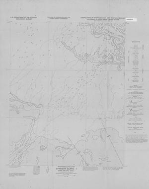 Primary view of object titled 'Photogeologic Map, Straight Cliffs-1 Quadrangle, Kane County, Utah'.