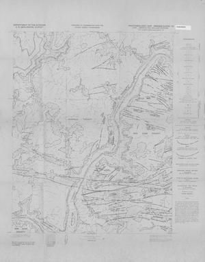 Primary view of object titled 'Photogeologic Map, Orange Cliffs-16 Quadrangle, Garfield and San Juan Counties, Utah'.
